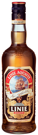 Lysholms Linie Aquavit Liqueur Norway 83@